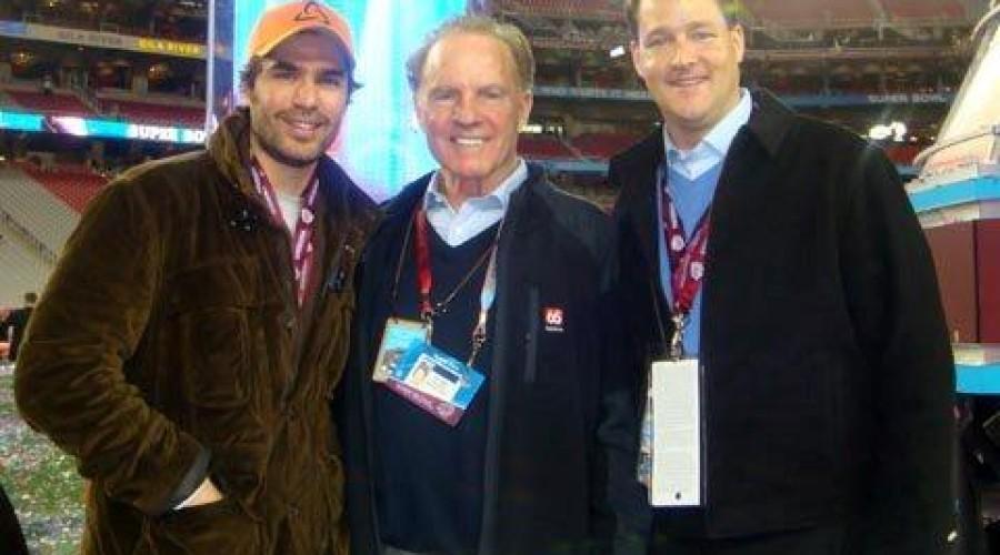 Bella Team at Super Bowl XLII – New York Giants Vs. New England Patriots