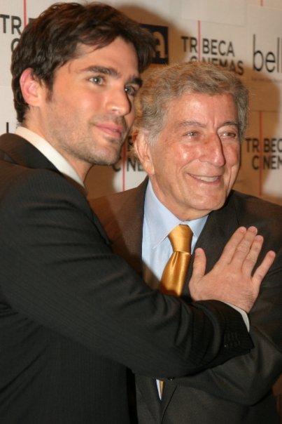 Eduardo Verastegui (Actor and Producer) and Tony Bennett (Music Legend)