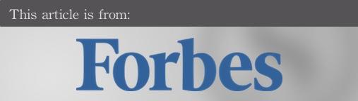 External articles - Forbes