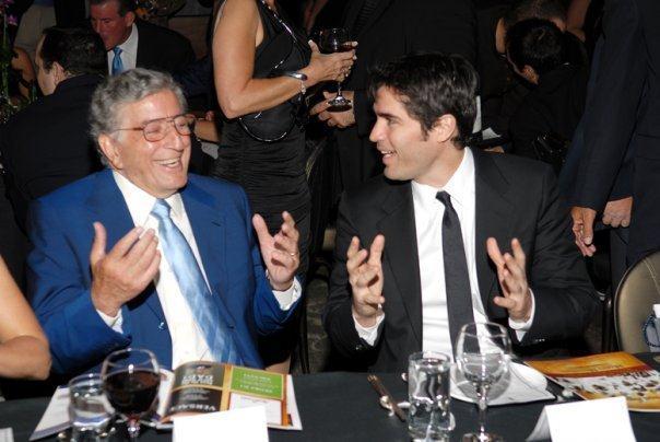Tony Bennett (Music Legend) and Eduardo Verastegui (Actor and Producer)