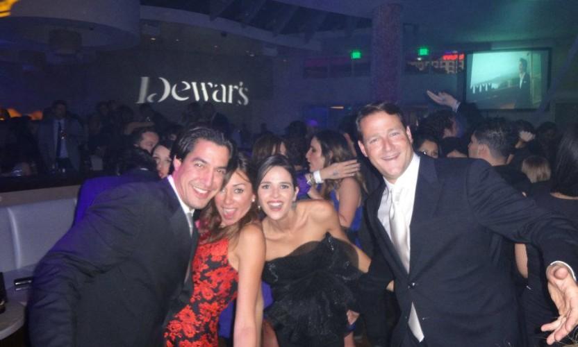Sean & Ana Wolfington attend the Latin Grammys in Las Vegas