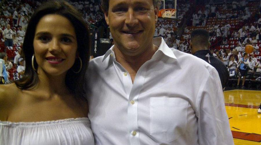 Sean & Ana Wolfington Watch The Miami Heat Win The Championship