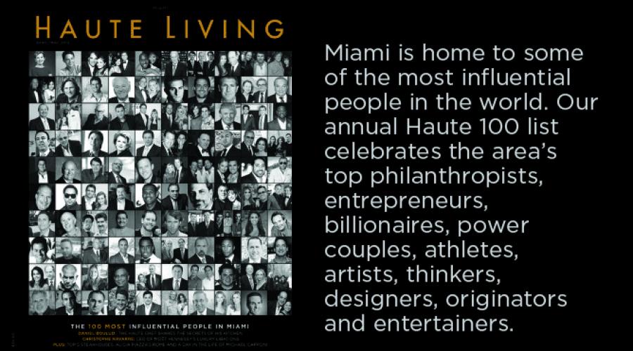 Haute 100 Miami