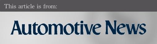 External articles - Automotive News